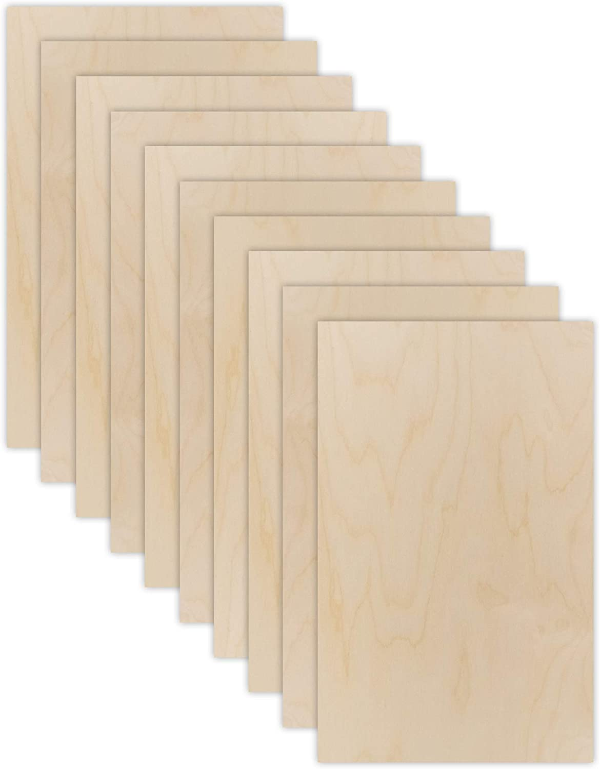 Mail order cheap 10 Pack 6mm Max 52% OFF 1 4thinch Birch 12†Baltic Plywood Premium