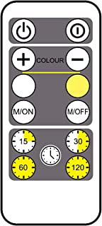 RF Signal Remote Control Operated to Motion Sensor On/Off,Timer and Dimmer for LUXSWAY Motion Sensor Ceiling Light - 1Pack