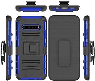 LG V60 ThinQ/G9 5G Case, Awesome Armor Foldable Movie Stand Slim Cover, TAITOU New Sliding Sleeve Shield Belt Clip Thin Se...