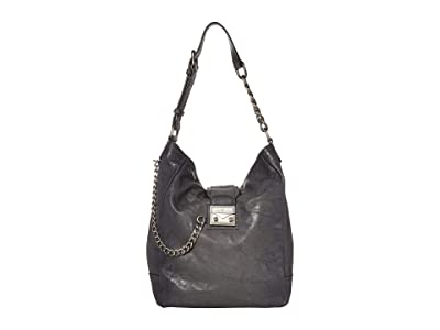 Frye Ella Hobo (Carbon) Handbags