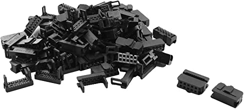 uxcell 40 Pcs FC-10P JTAG Socket Connector for Flat Ribbon Cable