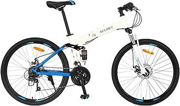 Auldey Adult Mountain Bike, Aluminum and Steel Frame Options