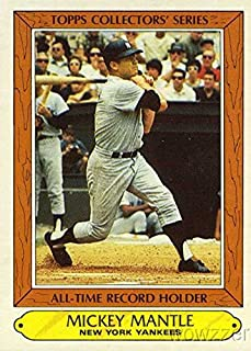 topps collectors series mickey mantle