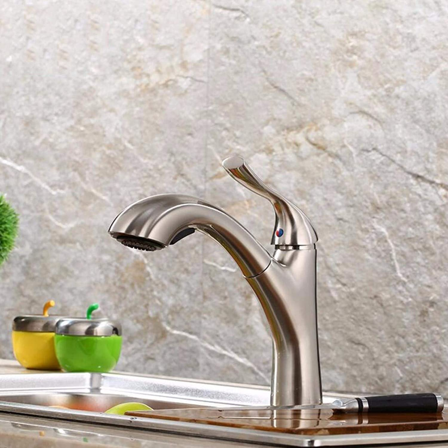 QPGGP-Kitchen mixer Kitchen faucet with a single hot and cold sink faucet