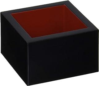 マス 一合 78×78 DXタイプ 黒内朱 7-873-27