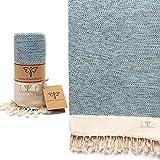 Smyrna Vintage Series Original Turkish Beach Towel   100% Cotton,...