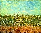 N/O Pintura por números para Adultos Niños DIY Pintura al óleo Kit Pintando Hierba 40 x 50cm con Marco Lienzo Pintura Arte Decoraciones para el hogar Regalos