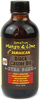 Jamaican Mango & Lime Jamaican mango & lime xtra dark jamaican black castor oil 4 oz, 4 Ounce