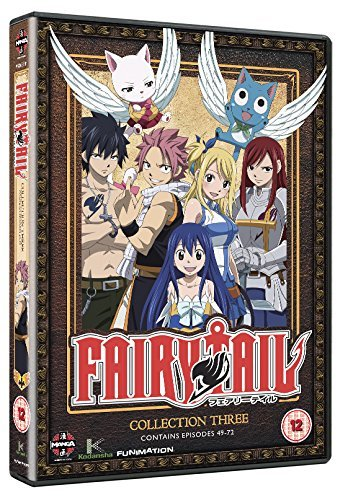 Fairy Tail Collection Three (Episodes 49-72) [Edizione: Regno Unito] [Import]
