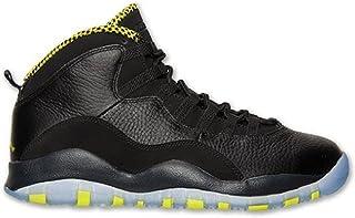 new concept a60fc 9fe0c NIKE Air Jordan Retro 10 X Basketball Shoes Sneaker Black Green