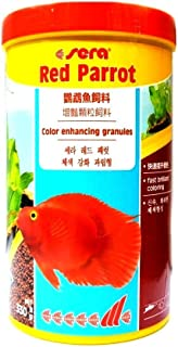 Shivi Pets Sera Red Parrot Color Enhancing Granules (1,000 ml (330 g / 11.6 oz.))