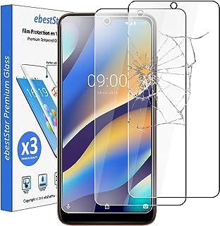 ebestStar – kompatibel med Wiko View3 Lite pansarglas [x3 pack] (2019) skyddsglas, skyddsglas skärmskydd, skyddsfolie 9H h...