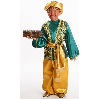 Disfraz de Paje Verde para Niño: Amazon.es: Juguetes y juegos