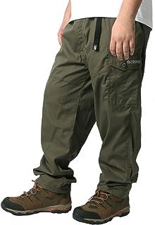 [アウトドアプロダクツ] カーゴパンツ メンズ 大きいサイズ ズボン イージーパンツ 裏メッシュ 無地