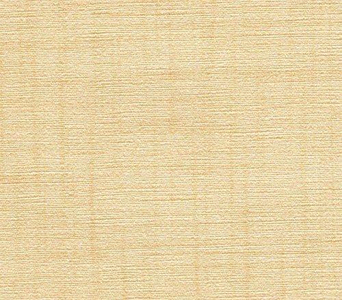 [在庫処分]合皮レザー生地 絹織物調 光沢 難燃 ベージュ 122×20cm