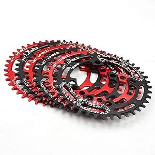 Deckas 【US Stock 32-52T 104BCD Narrow Wide MTB Chainring, Round/Oval AL7075 CNC Mounrtain Bike Chain Ring, Ultralight Bicycle Chainwheel, fit Shimano/SRAM/FSA Crank 7-11S Chain