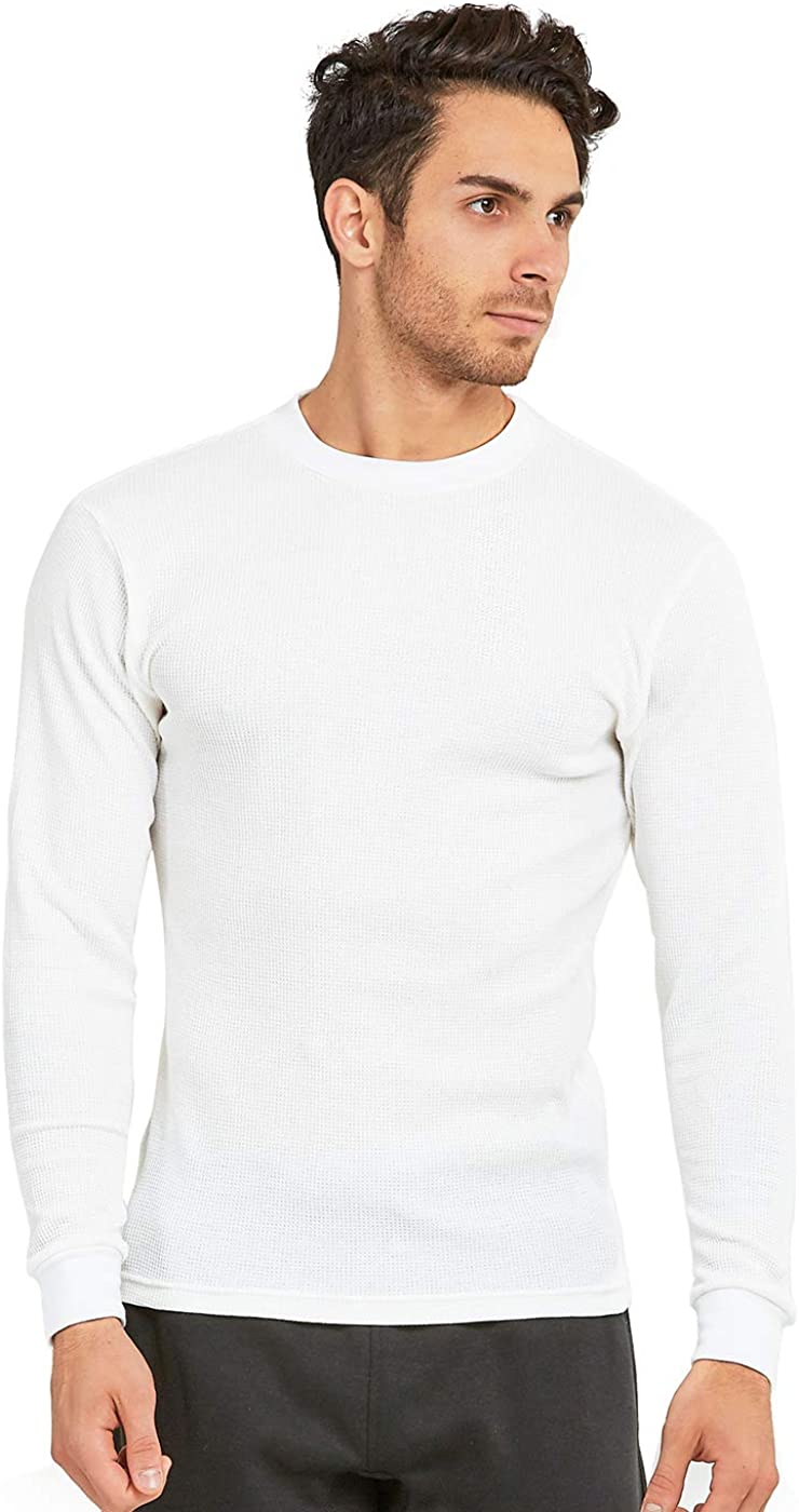 Men's Classic Waffle-Knit Heavy Thermal Top