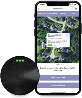 LandAirSea 54 GPS Tracker - USA Manufactured, Waterproof Magnet Mount. Full Global Coverage. 4G LTE Real-Time Tracking for...