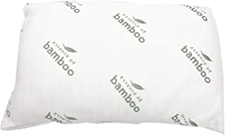 Memory Foam Bed Pillow by Pegasus -Original Essence of Bamboo with Down Alternative Fiber Fill - Hypoallergenic Washable Luxurious Knit Cover Infused with Rayon Made of Bamboo, Queen (1)