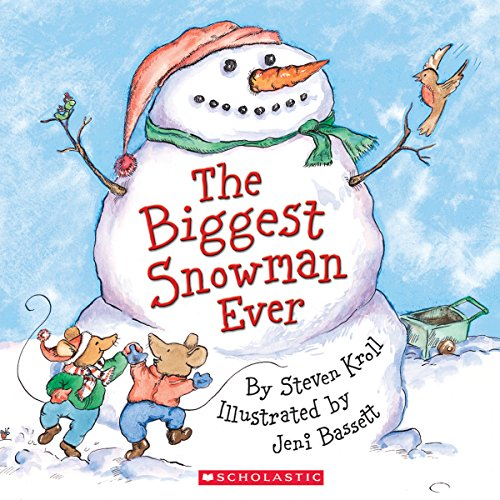 The Biggest Snowman Ever audiobook cover art