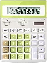 $58 » Desktop Calculators Solar Powered Calculator 12-Digit Calculator Large Screen Display Large Buttons Accounting Office Desi...