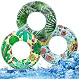 Best Beach Toys For Adults - Inflatable Pool Floats Swim Tubes Rings for Kids Review
