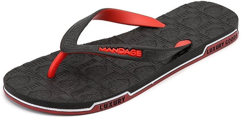 Men's Fashion Sneaker Women and Men's Rubber Flip Flops Thong Sandal Beach Slipper Breathable