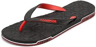 Men Sandals Women and Mens Rubber Flip Flops Thong Sandal Beach Slipper Outdoor Sandals Fashion Casual Comfortable Comfort...