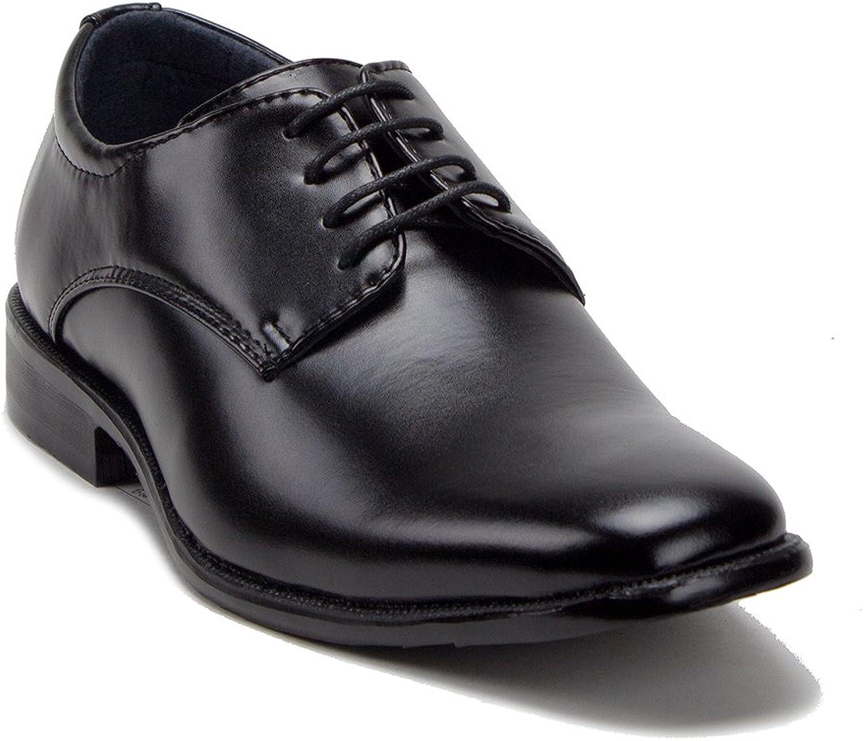 J'aime Aldo Men's 20626 Classic Round Toe Dress Oxfords Lace Up Suit shoes