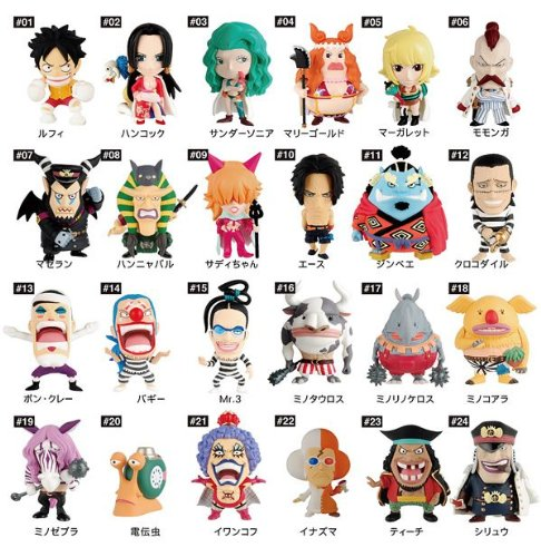 Anime Characters Heroes One Piece vol.8 Impel Down Hen + unopened BOX (20 pieces) [late release in August 2011] (japan import)