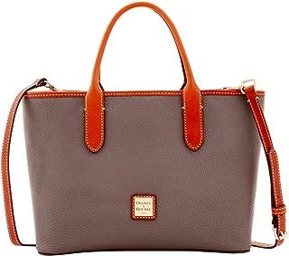 Dooney & Bourke Pebble Grain Brielle Top Handle Bag, Elephant