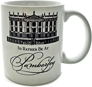 Id Rather Be At Pemberley 11 Ounce Coffee Mug