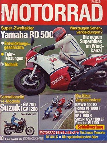 Motorrad Nr. 10/1984 09.05.1984 Super-Zweitakter Yamaha RD 500