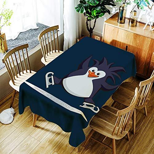 XXDD Mantel para Cachorros, Mantel con patrón de ratón de Dibujos Animados creativos, cómodo, Impermeable, Mantel para el hogar, Cubierta A5 140x160cm