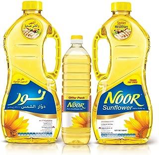 Noor 1.8 Liter, Pack of 2 + 750ml Sunflower Oil