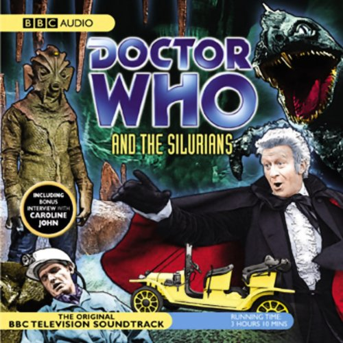 Doctor Who and the Silurians (Dramatised) audiobook cover art