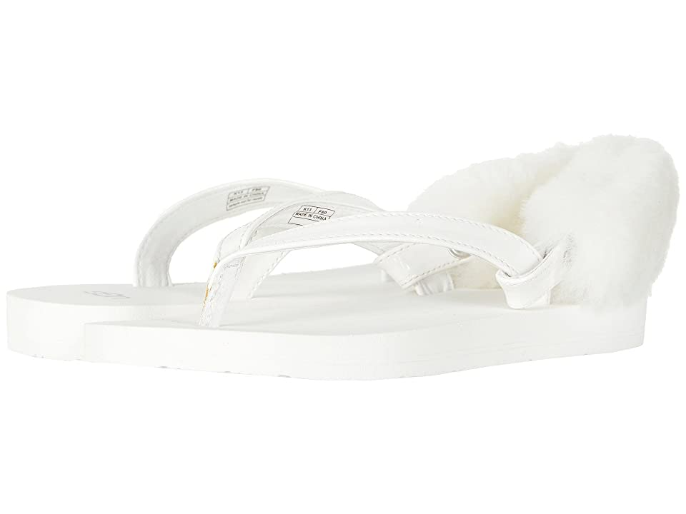UGG Kids LaaLaa (Little Kid/Big Kid) (White) Girls Shoes