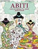 Abiti Libro da Colorare Per Adulti
