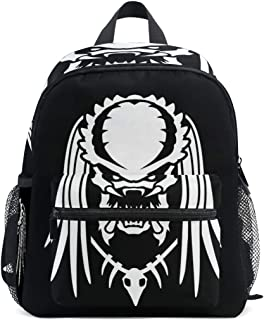 Jojogood Alien Vs Predator Silhouette Toddler Kids School Backpack Cute Durable Kindergarten Shoulder Bag