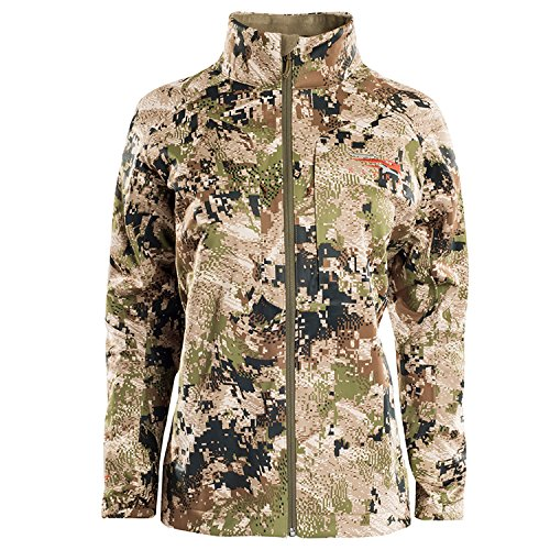 Best Deals! SITKA Gear Women's Hunting Windproof DWR Pocketed Camo Jetstream Jacket, Optifade Subalpine, Large