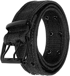 Canvas Double Grommet Hole Belt 12 Colors