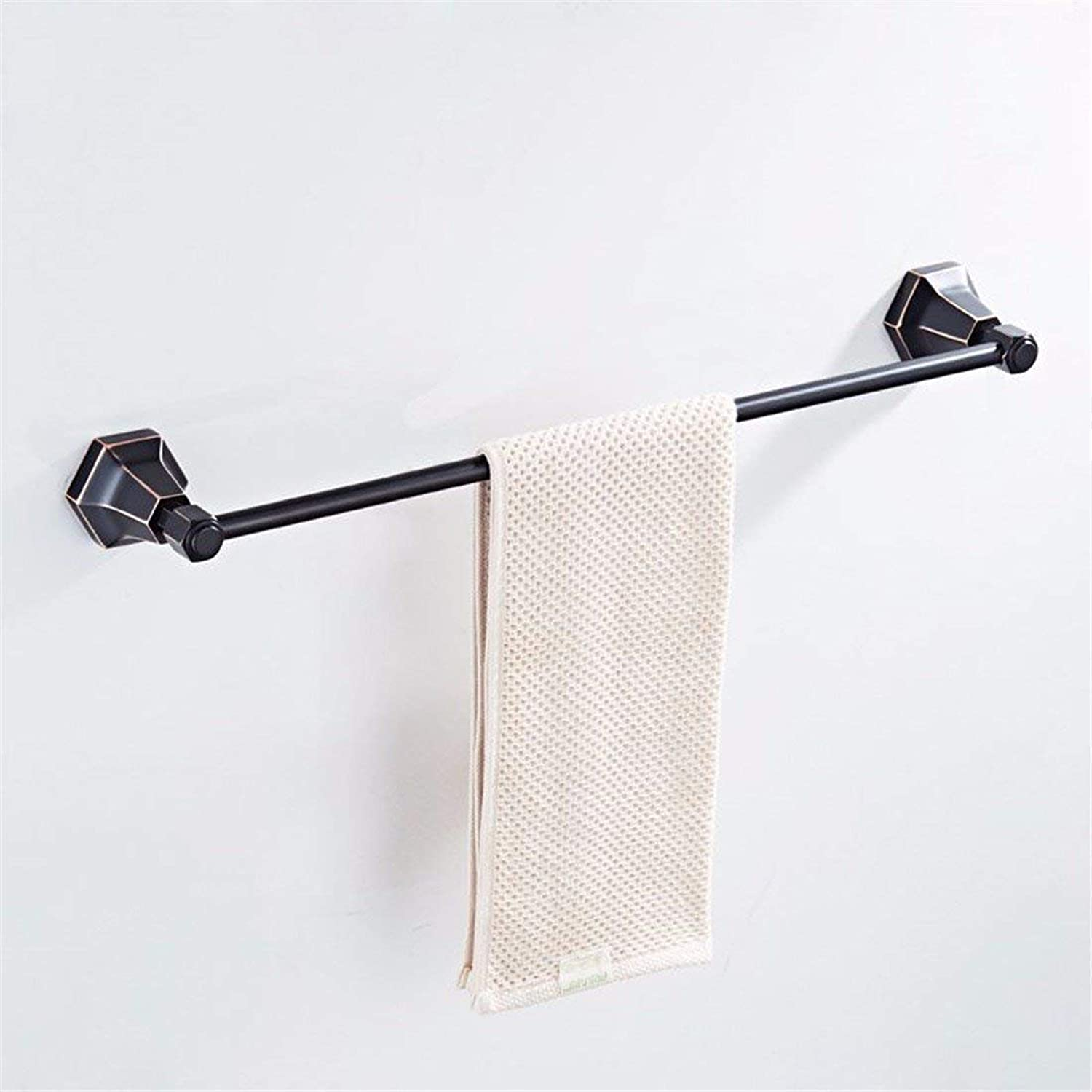 Antique Copper Full Black Gate-Towels, Accessories of House of American Style Bathtowel,Single Rod