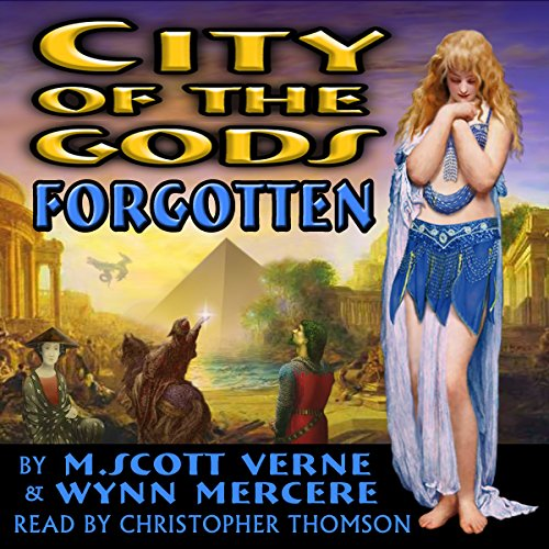 City of the Gods audiobook cover art