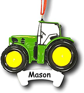 Best personalized tractor ornament Reviews