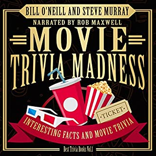 Movie Trivia Madness: Interesting Facts and Movie Trivia audiobook cover art
