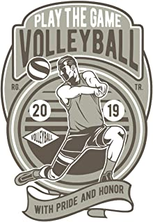 "Schedule Planner 2020: Schedule Book 2020 with Volleyball Retro Cover | Weekly Planner 2020 | 6"" x 9"" 