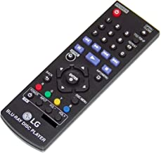 LG AKB75135401 DVD Blu-Ray Player Remote Control for BP145 BP155 BP165 BP240 BP250 BP255 BP300 BP335 BP340 BP350