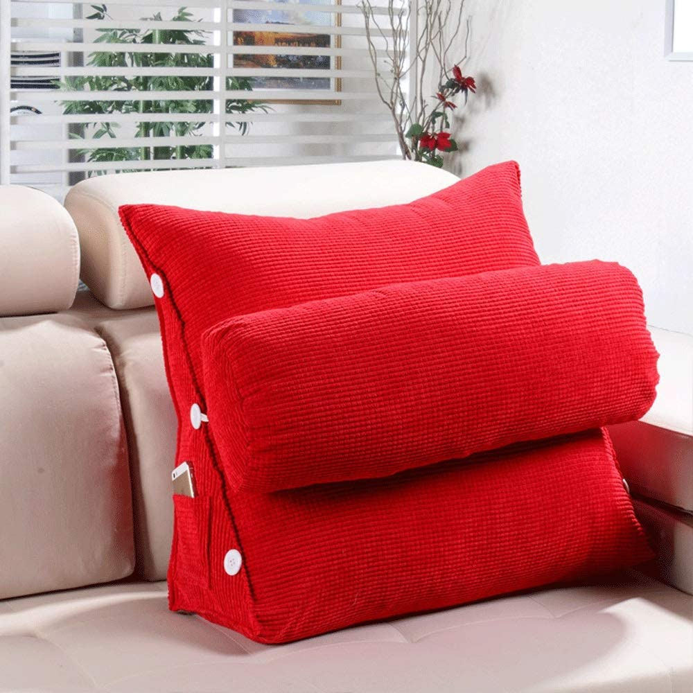 ZXT Los Angeles Our shop OFFers the best service Mall Sofa Cushion Pillow Triangular Cushions Back Bedside Large