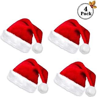Best blue santa claus hat Reviews