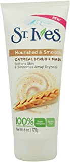 St. Ives Gentle Smoothing Face Scrub and Mask, Oatmeal, 6 oz
